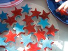 """Stars and Stripes"" Dessert ... And ""Over 21"" Independence Day Jello-Shots**"