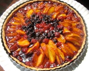 Mandala of Summer Fruit Tart