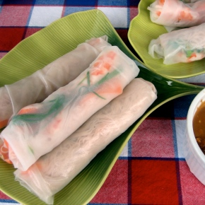 Sultry Summer All Season Fresh Spring Rolls