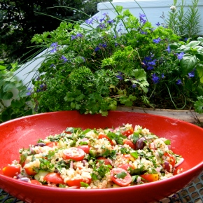 Italian Quinoa With Fresh Garden Herbs