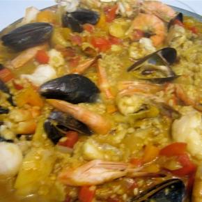 Seafood Paella Ole