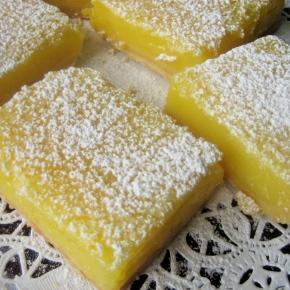 "Not So ""Easy"" But Delicious ""Lemon Squares"""