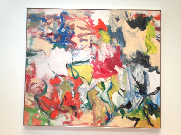 Willem de Kooning  Untitled XI